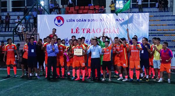 Phù Đổng giành quyền thăng hạng Nhì Quốc gia mùa bóng 2017