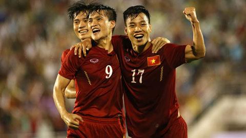 BXH FIFA tháng 11/2016: ĐT Việt Nam tăng 7 bậc, xếp hạng 129 thế giới