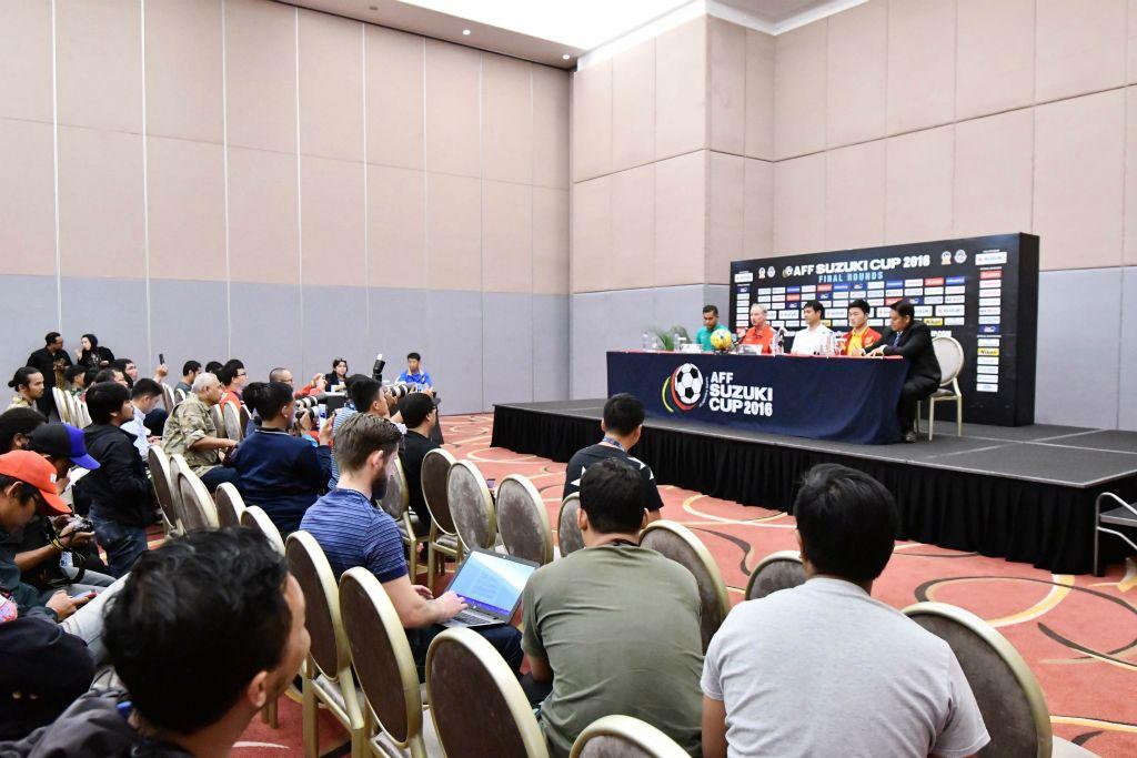 Lịch họp báo trước trận bán kết lượt về ĐT Việt Nam vs ĐT Indonesia