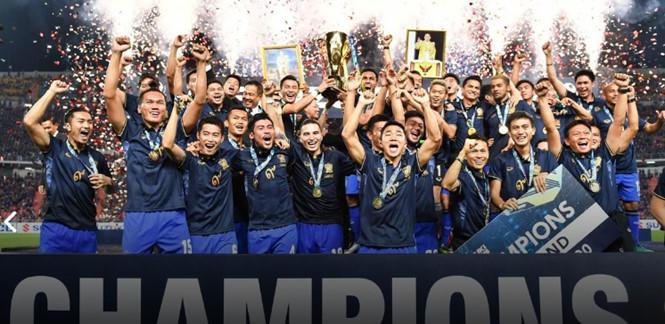 Thắng thuyết phục Indonesia, Thái Lan vô địch AFF Suzuki Cup