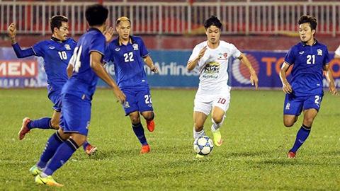 Thắng U21 HAGL 1-0, U21 Thái Lan giành vé vào bán kết