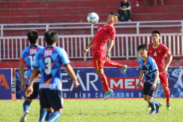 U21 Báo Thanh Niên Việt Nam và U21 HAGL vào bán kết