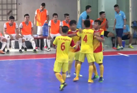 Giải Futsal Cúp QG 2016: Sài Gòn FC và Tân Hiệp Hưng giành quyền vào VCK