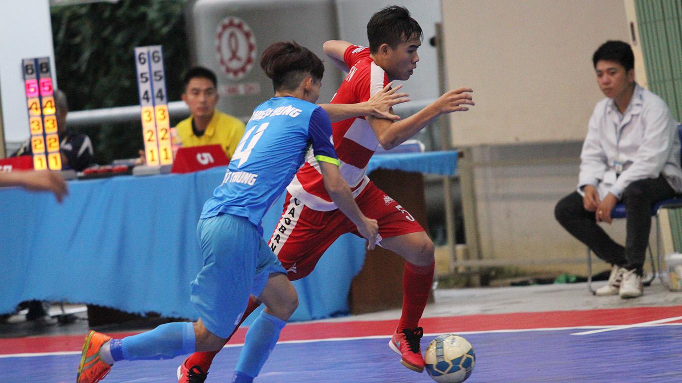 Futsal Cúp QG 2016: Thắng luân lưu 6m, Cao Bằng giành vé cuối vào VCK