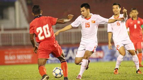 U21 Báo Thanh Niên Việt Nam và U21 HAGL gặp nhau trong trận tranh giải Ba