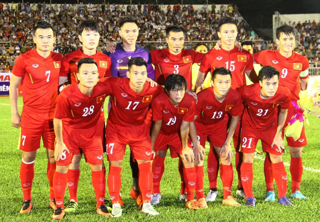 BXH FIFA tháng 1/2017: ĐT Việt Nam xếp hạng 136 thế giới