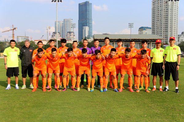 Danh sách ĐT U18 QG tập trung chuẩn bị tham dự giải quốc tế Asean tại Côn Minh (TQ)