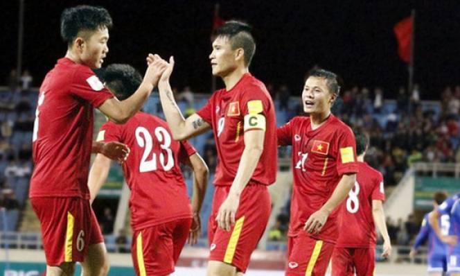 ĐT Việt Nam giữ nguyên vị trí trên BXH FIFA tháng 2/2017