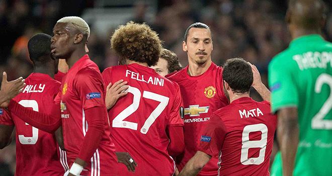 ĐIỂM NHẤN Man United 3-0 St Etienne: Đội quân của Mourinho quá mạnh. Ibra càng già càng 'cay'