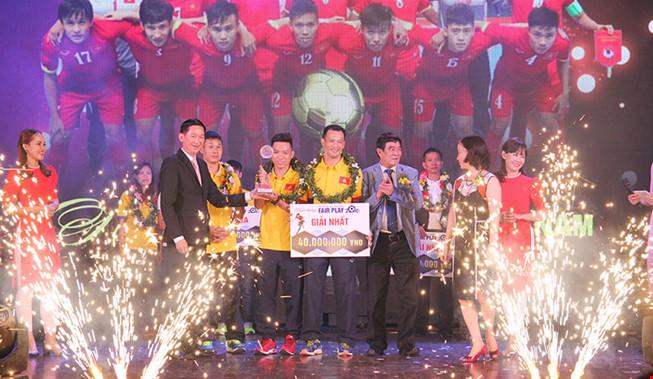 ĐT Futsal Việt Nam giành giải Fair-play năm 2016