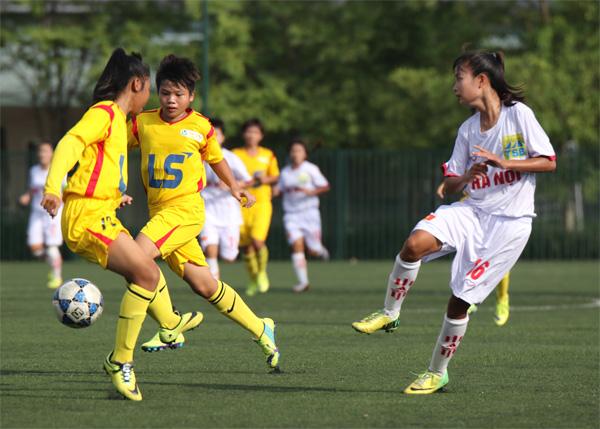 Ngày 7/3, khai mạc lượt đi giải bóng đá tập huấn nữ U16 năm 2017