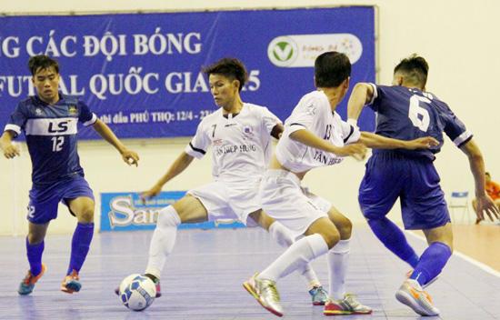 Lịch thi đấu vòng loại giải Futsal VĐQG HDBank 2017