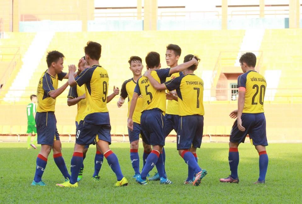 Lượt về vòng loại giải vô địch U19 QG 2017 (ngày 5/3): PVF chắc suất vào VCK