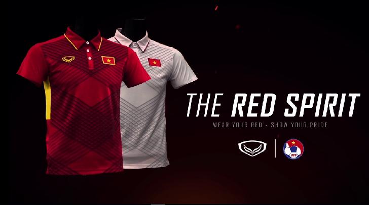 Công bố mẫu áo thi đấu năm 2017 của ĐTQG Việt Nam