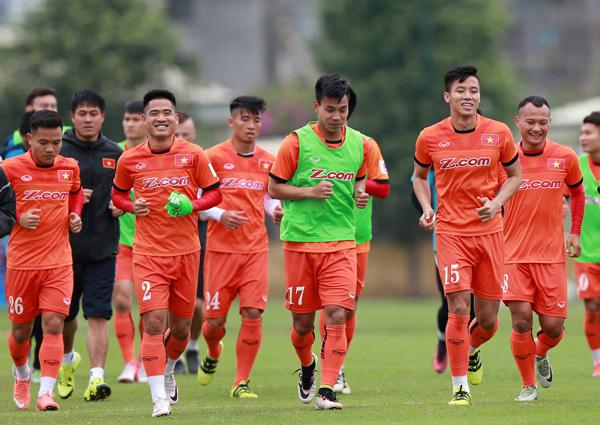 Danh sách ĐTQG Việt Nam tập trung chuẩn bị tham dự VL Asian Cup 2019