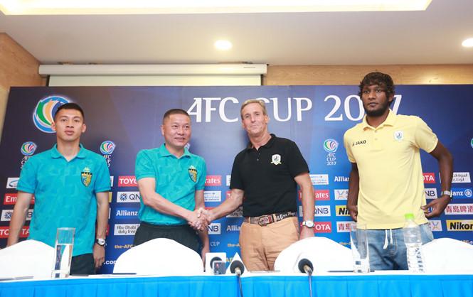 AFC Cup 2017 (bảng H): Hà Nội FC tiếp Tampines Rovers FC trên sân Mỹ Đình