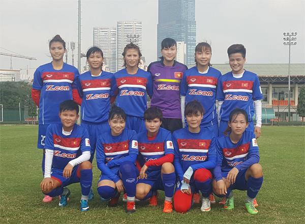 Đội tuyển nữ Quốc gia đấu tập với CLB nữ Hà Nội I: Cơ hội thể hiện cho đội hình 2