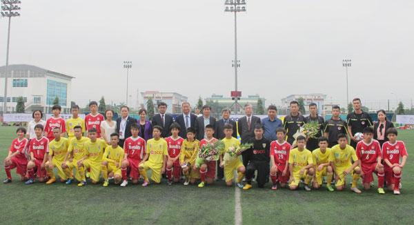 Sáng nay (25/3), khai mạc giải giao hữu U15 Việt Nam - Nhật Bản Unical Cup 2017