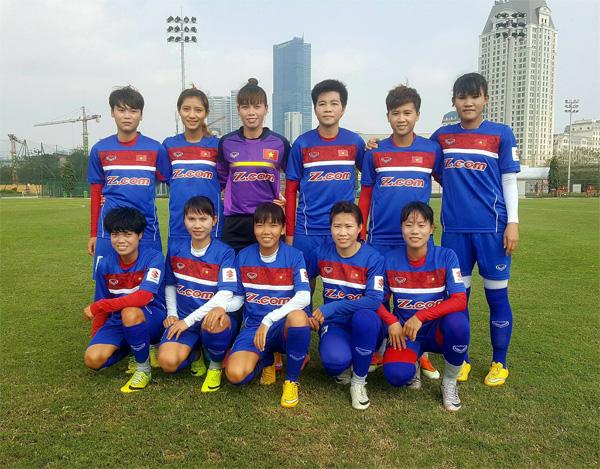 BXH FIFA quý I/2017: Đội tuyển nữ Việt Nam đứng vị trí 33