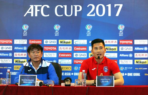 [AFC Cup 2017] Phát biểu trước trận Than Quảng Ninh vs Home United: Quyết thắng