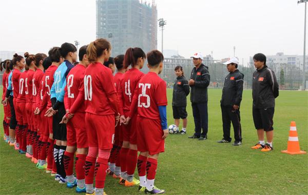 VL Asian Cup nữ 2018 (bảng D): Đội Việt Nam tự tin giành 3 điểm trước đối thủ Syria
