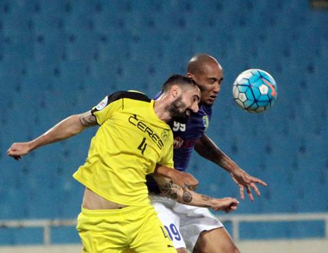 [AFC Cup 2017] Thắng kịch tính, Hà Nội vươn lên đầu bảng G