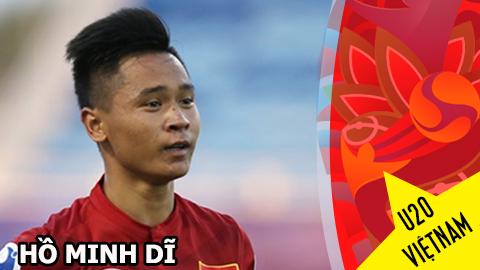Gương mặt U20 Việt Nam - Hồ Minh Dĩ: Chí lớn của chàng lùn