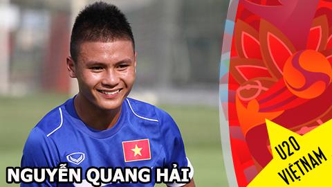 Gương mặt U20 Việt Nam - Nguyễn Quang Hải: Vua giải trẻ đã lớn