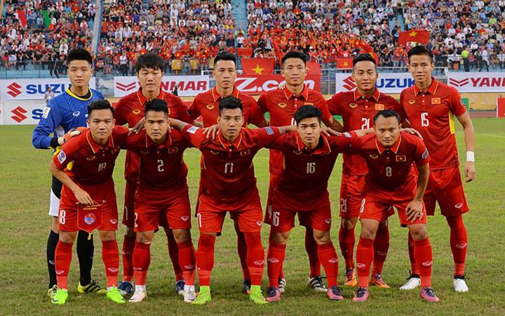 ĐT Việt Nam giữ nguyên vị trí 136 trên BXH FIFA tháng 4/2017