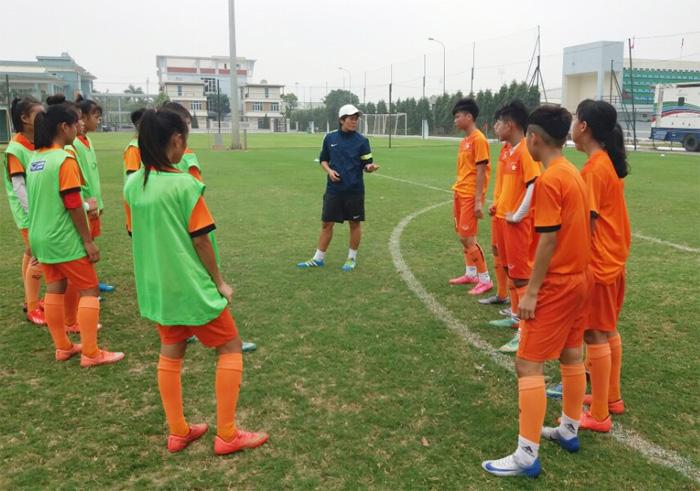 Đội tuyển U15 nữ Quốc gia tập trung chuẩn bị tham dự giải Đông Nam Á 2017