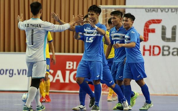Kết quả vòng 3- Giai đoạn 2 Giải futsal VĐQG HDBank 2017 (ngày 11/4): Thái Sơn Nam vươn lên đầu bảng