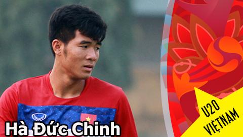 """Gương mặt U20 Việt Nam – Hà Đức Chinh: Nghị lực của """"Chân gỗ"""""""