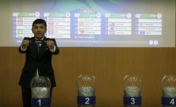Kết quả bốc thăm Vòng loại U16 châu Á 2018: Việt Nam cùng bảng Australia