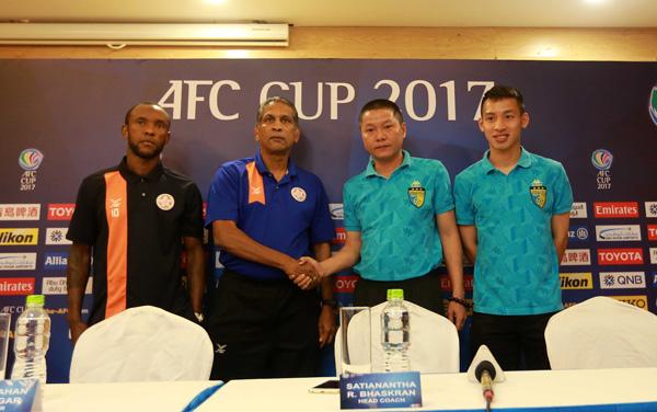 Mất quyền tự quyết, Hà Nội FC vẫn tự tin có vé đi tiếp ở AFC Cup 2017