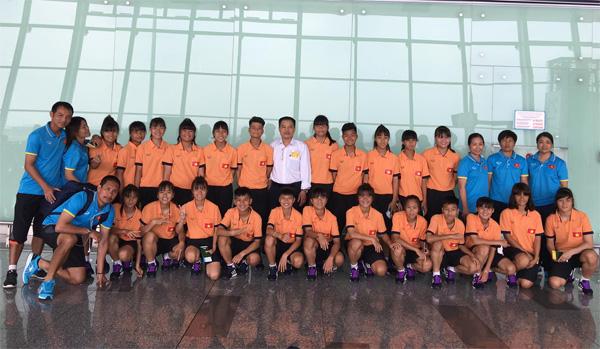 Đội tuyển U15 nữ Quốc gia chốt danh sách, lên đường đi thi đấu