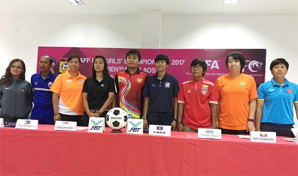 Giải U15 nữ AFF 2017: 16h chiều nay (8/5), tuyển Việt Nam gặp Thái Lan: Quyết tâm giành kết quả tốt