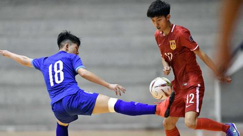 Giao hữu tại Thái Lan: U20 futsal Việt Nam thắng U20 futsal Trung Quốc 5-1
