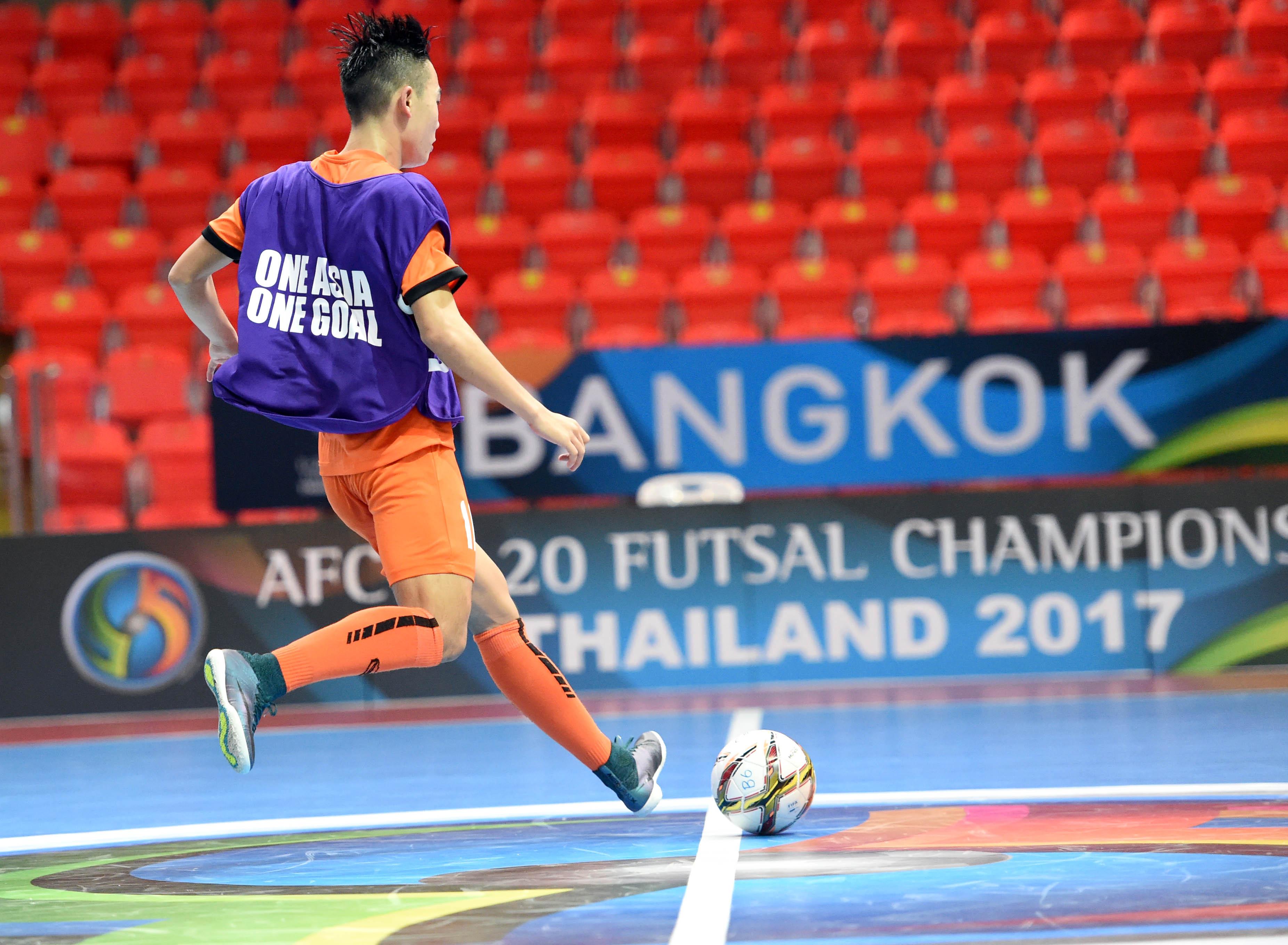 U20 Futsal châu Á 2017: Việt Nam đã sẵn sàng