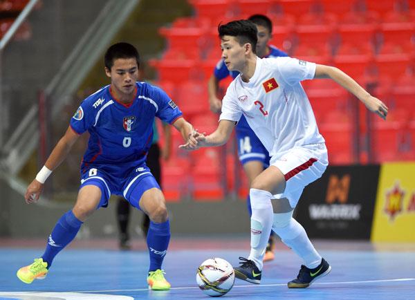 Futsal U20 châu Á 2017: Việt Nam lội ngược dòng để giành trọn 3 điểm
