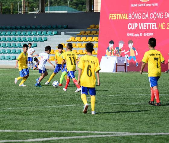 Festival bóng đá cộng đồng Cúp Viettel hè 2017