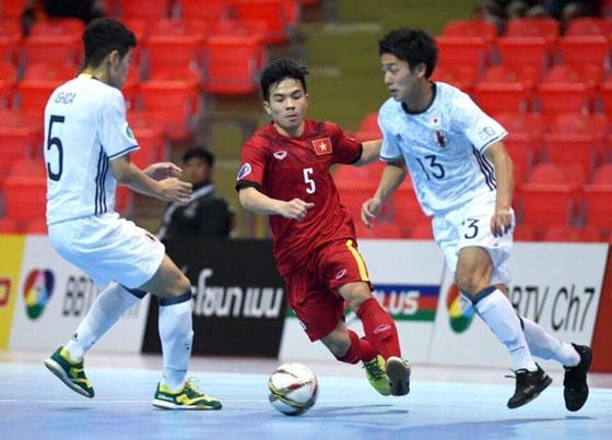 Futsal U20 châu Á 2017: Thắng U20 Việt Nam 3-1, U20 Nhật Bản vào tứ kết
