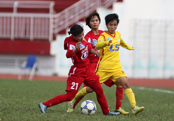 Lượt 4 giải BĐ nữ VĐQG – Cúp Thái Sơn Bắc 2017: Hà Nội I tiếp tục giành trọn 3 điểm