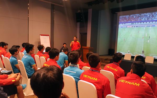 U20 Việt Nam chuẩn bị cho trận gặp Pháp: Vào sân với sự tự tin và khát vọng