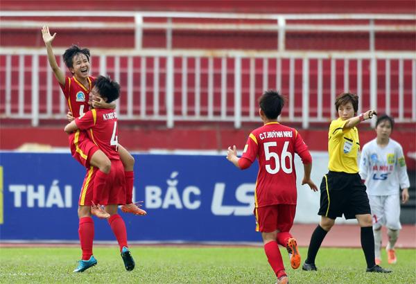 Lượt trận 5 giải BĐ nữ VĐQG - Cúp Thái Sơn Bắc 2017 (25/5): TP.HCM II có chiến thắng đầu tiên