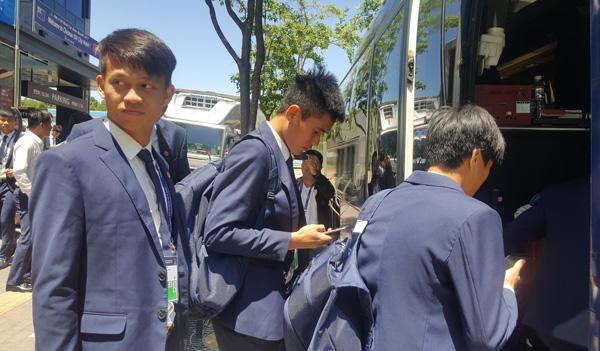 U20 Việt Nam đến Jeonju chuẩn bị cho trận gặp Honduras