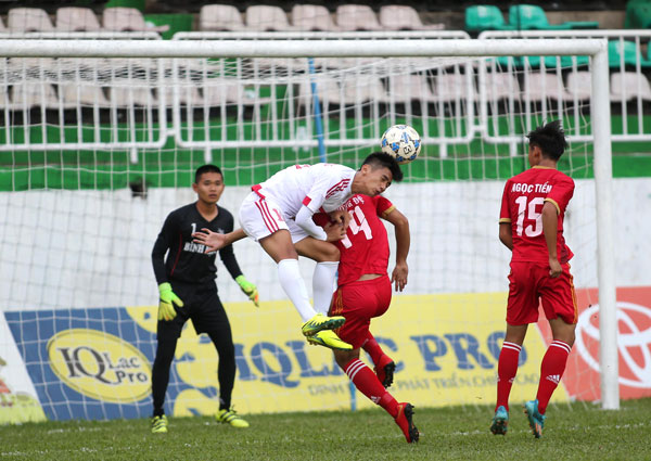 Kết quả lượt trận thứ 2 VL giải BĐ vô địch U17 Quốc gia – Cúp Thái Sơn Nam 2017