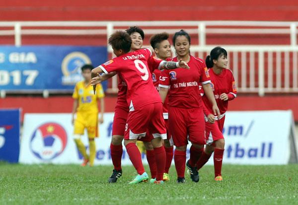 Lượt 6 giải BĐ nữ VĐQG – Cúp Thái Sơn Bắc 2017 (28/5): TNG Thái Nguyên ngược dòng thắng lợi