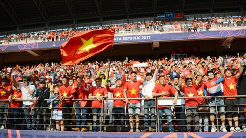 CĐV tự hào về màn trình diễn của U20 Việt Nam