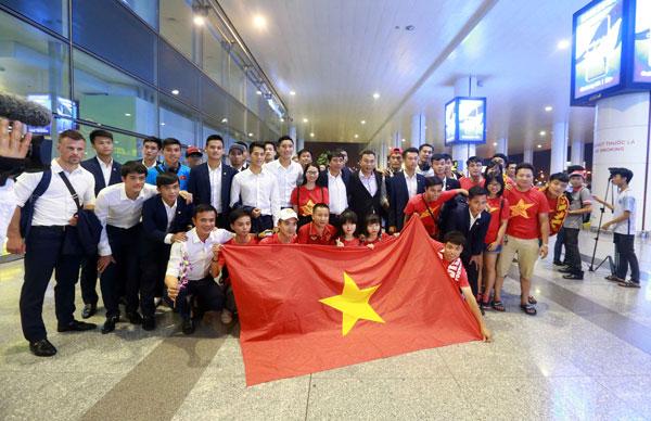 Kết thúc  FIFA U20 World Cup 2017, U20 Việt Nam trở về trong vòng vây NHM