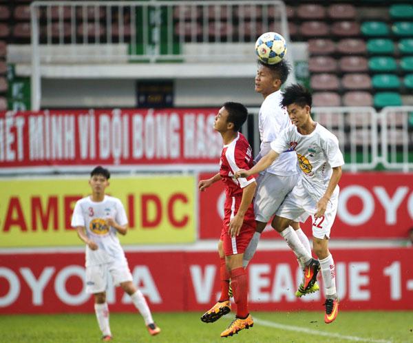 Kết quả lượt trận thứ 3 VL giải VĐ U17 QG - Cúp Thái Sơn Nam 2017